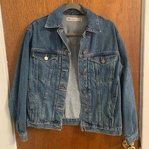Oversized Denim Jacket: ASOS